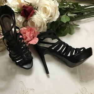 Michael Shannon Stiletto Strappy Evening Heels 6.5